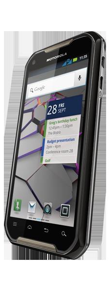 Motorola IronRock Android 2.3 en México con Nextel