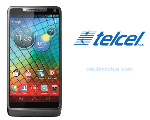 Motorola RAZR i XT890 Intel ya en México con Telcel