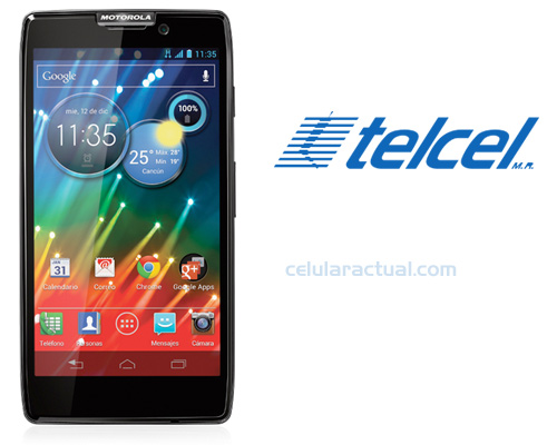 Motorola RAZR HD XT925 en México con Telcel