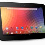 Nexus 10 de Google ya a la venta