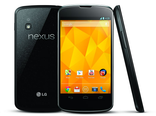 El Nexus 4 de LG y Google