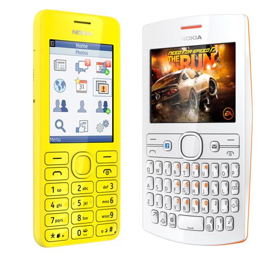 Nokia Asha 206 y 205