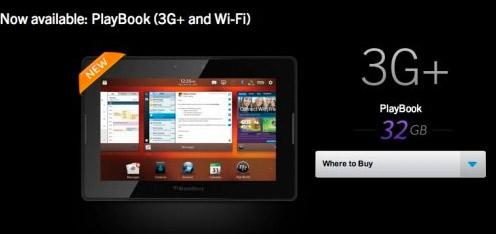 BlackBerry PlayBook 3G+