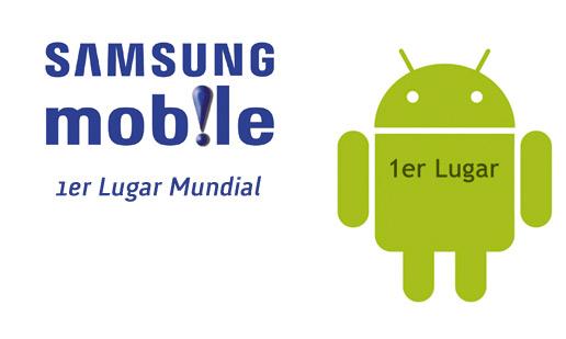Android y Samsung los número 1 a nivel mundial en el tecer trimestre del 2012