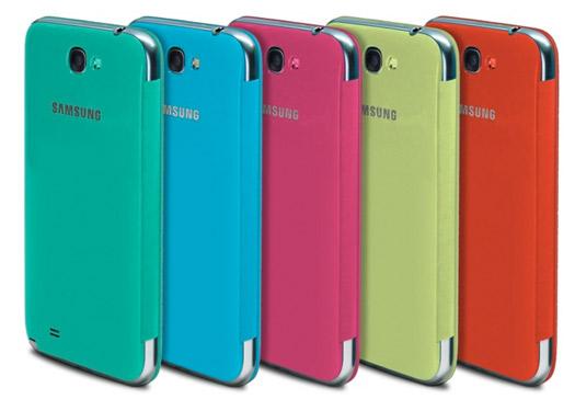 Galaxy S III y Galaxy Note II cubiertas protectoras de colores