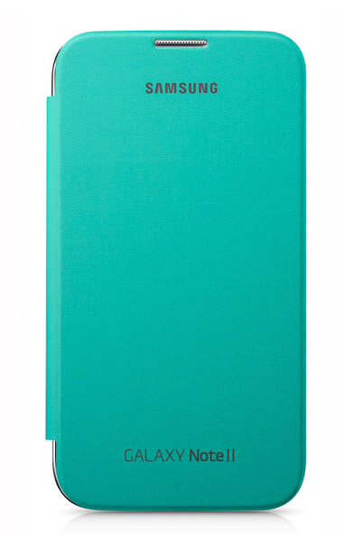 Samsung Galaxy Note II Flip Cover Verde Mint
