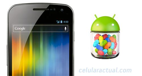 Samsung Galaxy Nexus con Android 4.2 Jelly Bean