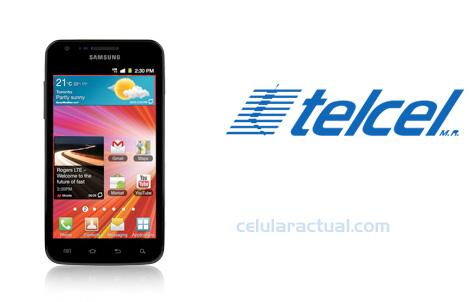 Samsung Galaxy S II LTE ya en México con Telcel