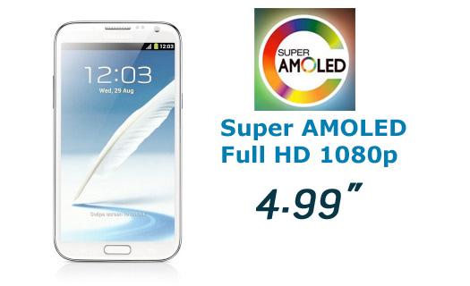 Samsung pantalla de 4.9 Super AMOLED 1080p en el CES