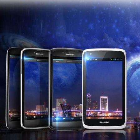 Sharp Aquos Phone SH930W con pantalla de 5 pulgadas a 1080p
