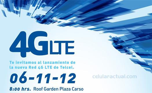 Telcel lanza su Red 4G LTE en México