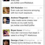 Twitter app actualización para iOS y Android con mejoras