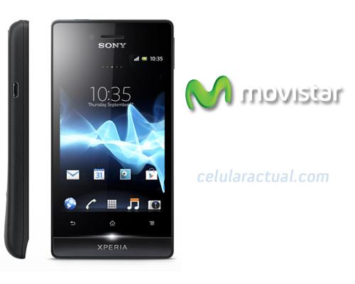 Sony Xperia miro llega a Movistar México