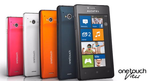 Alcatel One Touch View con Windows Phone 7.8 Video