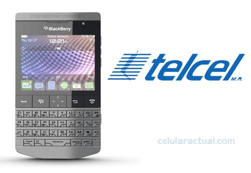 BlackBerry Porsche Design P9981 en México con Telcel