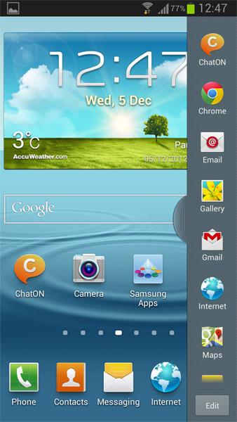 Samsung Galaxy S III internacional con Android 4.1.2