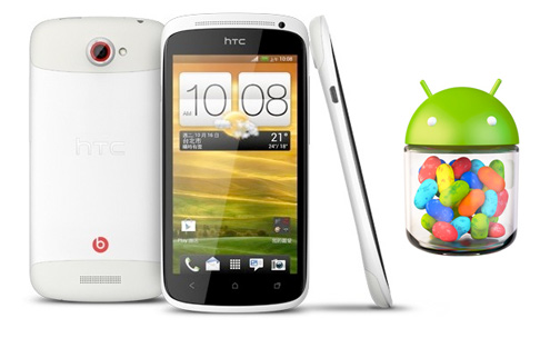 HTC ONe S con Android Jelly Bean