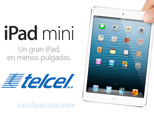 iPad mini pronto en Telcel