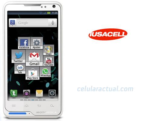 Motorola Motosmart XT615 en México con Iusacell