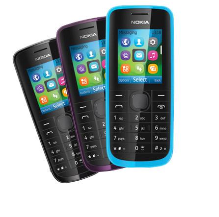 Nokia 114 un básico dual SIM Easy Swap SIM