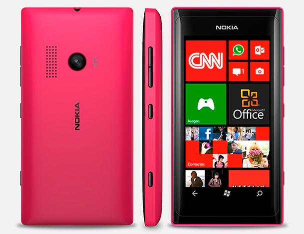 Nokia Lumia 505 Edición Telcel oficial color Rosa