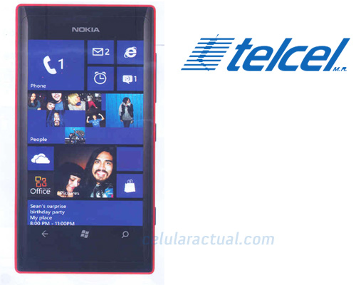 Nokia Lumia 505 Telcel con Windows Phone 7.8 para México