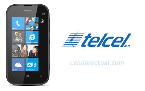Nokia Lumia 510 en México con Telcel