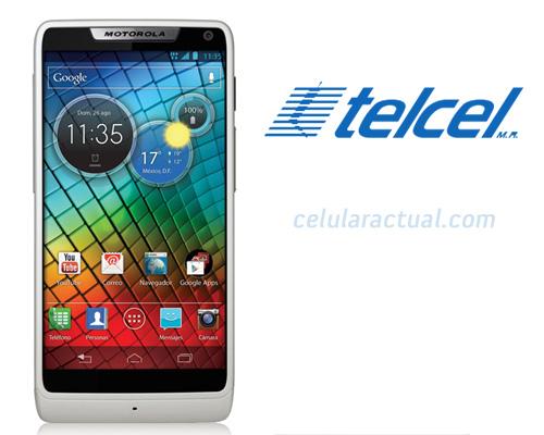 Motorola RAZR i color blanco en Telcel México