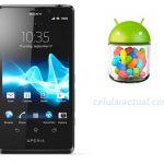 Sony y su calendario de actualizaciones a Android Jelly Bean a mediados de diciembre