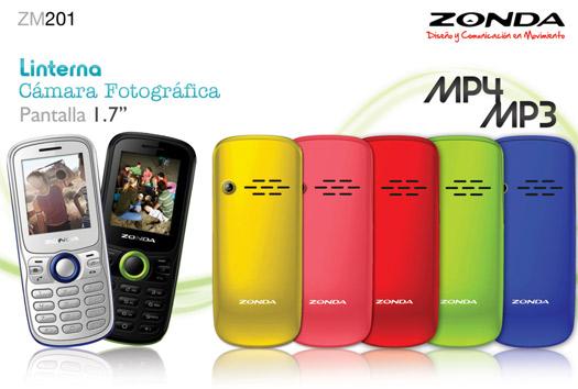 e70069faf9b Zonda ZM201 un básico, multilínea y musical ya en México