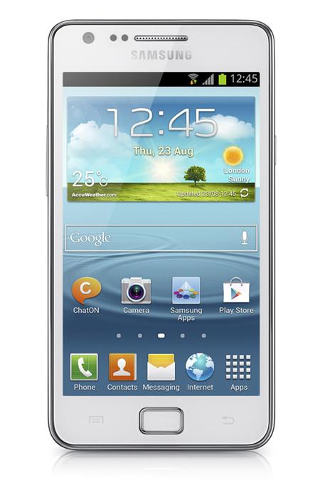 Samsung Galaxy S II Plus con Jelly Bean