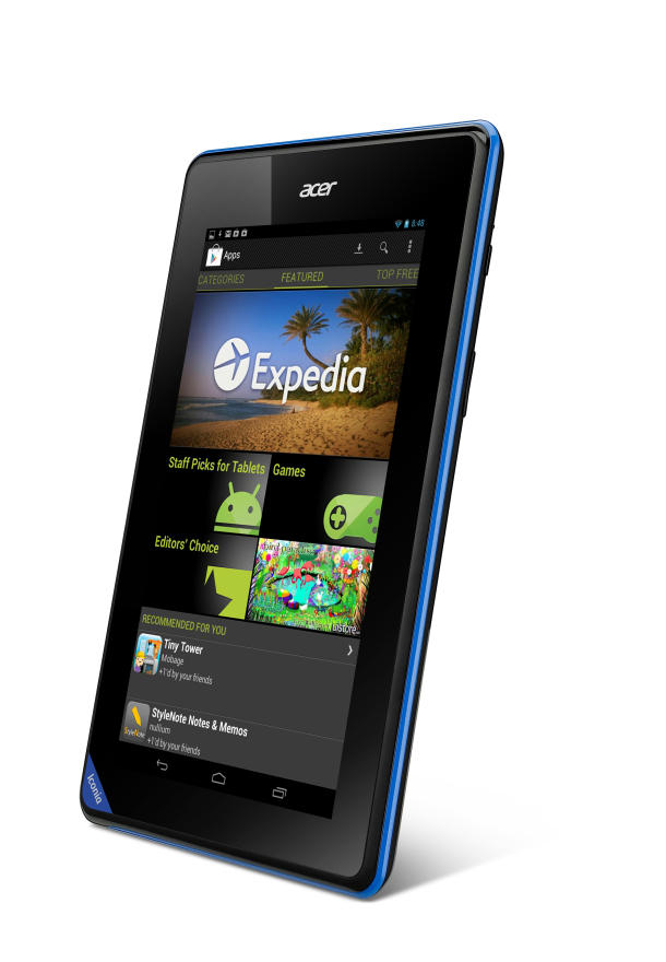Acer Iconia B1 con Android Jelly Bean