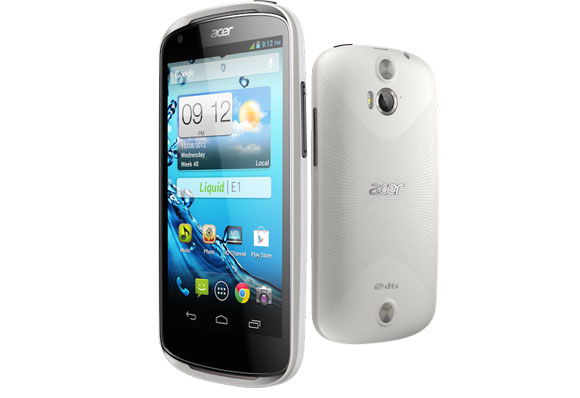 Acer presenta el Liquid E1 un Android Jelly Bean