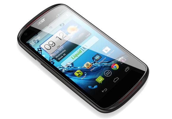 Acer  Liquid E1 con Android Jelly Bean