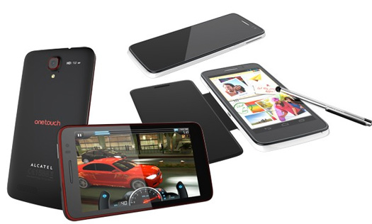 Alcatel  One Touch Scribe series con 5 pulgadas y stylus