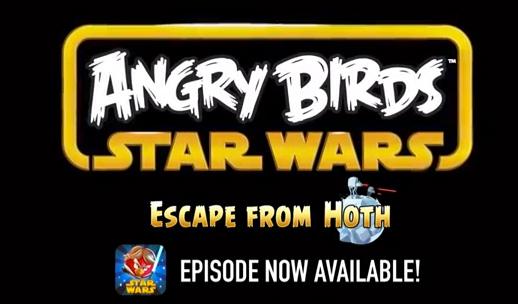 Angry Birds Star Wars 20 niveles en episodio Hoth