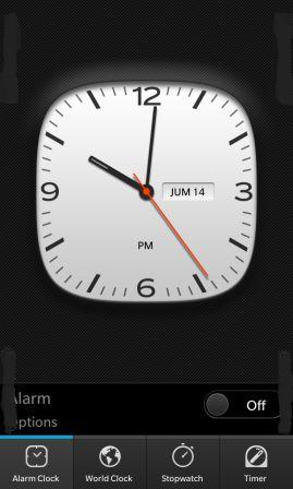 BlackBerry 10 y su Reloj, Mapas y su Control por voz capturas