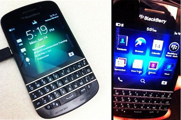 BlackBerry X10 de RIM en directo