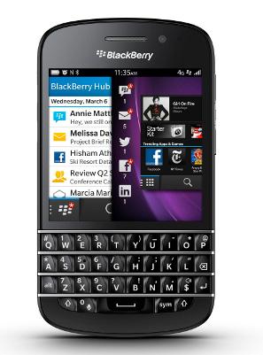 BlackBerry Q10 oficial