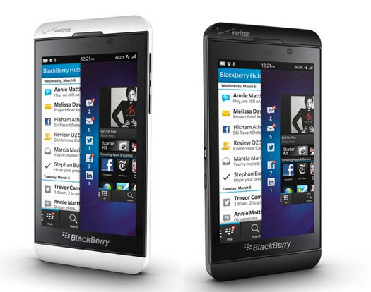 BlackBerry Z10 oficial