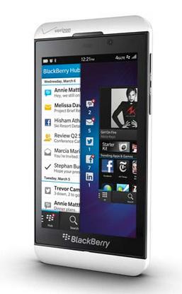 BlackBerry Z10 oficial
