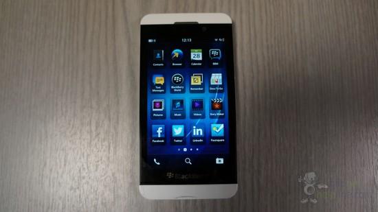 BlackBerry Z10 en fotos en vivo