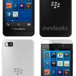 BlackBerry Z10 en primeras imágenes oficiales de prensa filtradas