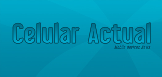Celular Actual Logo promocional