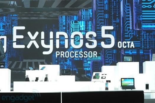 Samsung CES 2013 Exynos 5 Octa su procesador de 8 núcleos
