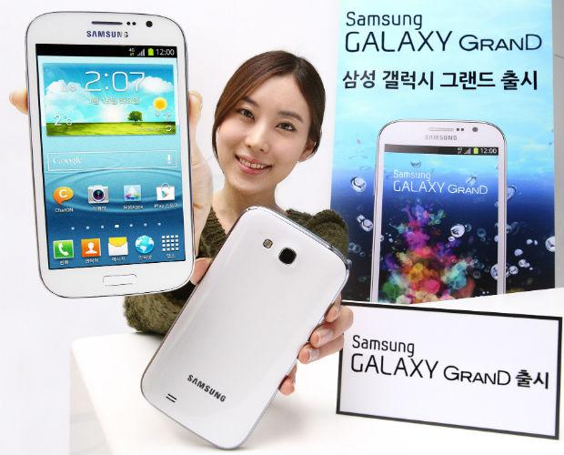 Samsung Galaxy Grand para Corea del Sur llega con procesador quad-core