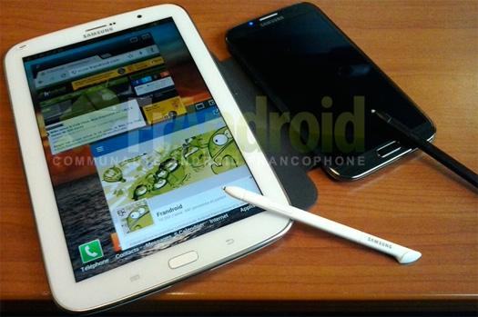 Samsung Galaxy Note 8.0 con Galaxy Note II