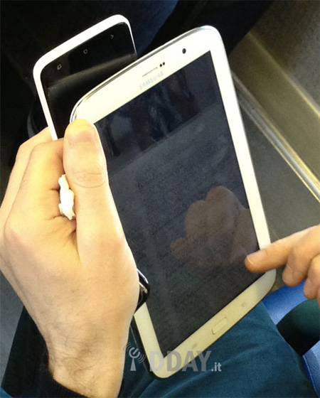 Samsung Galaxy Note 8.0 en vivo y directo fotos filtradas