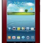 Samsung Galaxy Tab 2 7.0 anunciada en colo rojo y con Android Jelly Bean