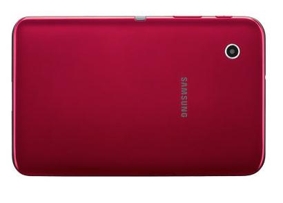 Samsung Galaxy Tab 2 7.0 en color Rojo Garnet